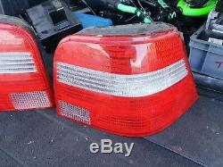 Vw Golf Mk4 US Spec Rear Lights clear Lens US Style R32 GTI TDI 1.9 3 door