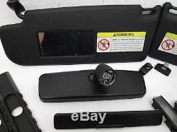 Vw Mk4 Black Headliner Trim Kit Sunvisors Lights Oem 20th R32 Gli Gti Tdi Golf