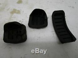 Vw Mk4 Brushed Aluminum Pedal Set 4pcs Oem 20th 337 Gli Tdi Golf New Beetle