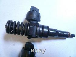 Vw Mk4 Mk5 Tdi Brm Bew Jetta Golf Set Of 4 Pd Fuel Injectors 04-06 038130073bl