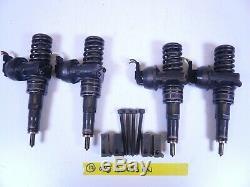 Vw Mk4 Mk5 Tdi Brm Bew Jetta Golf Set Of 4 Pd Fuel Injectors 04-06 038130073bn