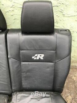 Vw Mk4 R32 Leather Rear Seats Oem Golf 1999.5-2005 Gti Jetta Tdi 1.8t Vr6 3.2l