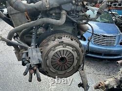 Vw Volkswagen Mk4 Golf 2001 1.9 Tdi Diesel Complete Engine Asz