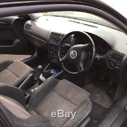 Vw Volkswagen golf mk4 gt tdi 150 3door black 6speed