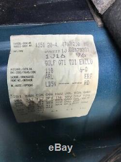 Vw golf mk4 GTI TDI 150 bhp ARL