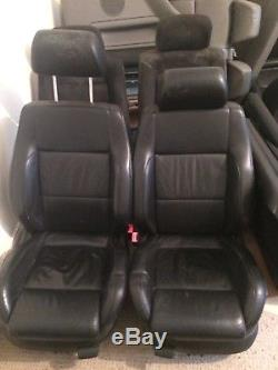 Vw golf mk4 heated black leather GT TDi seats 5 door