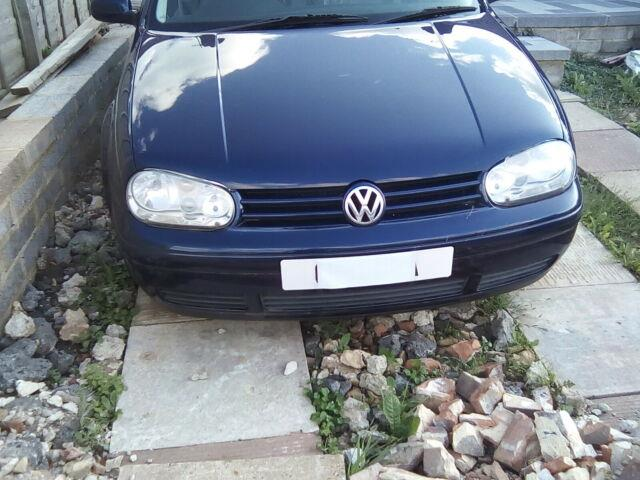 Vw Golf Mk4 Pd Gt Tdi Project Spares Or Repair
